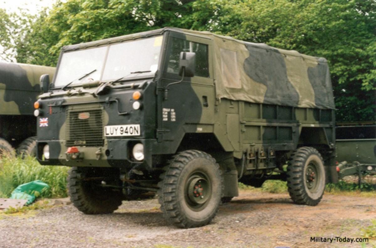 Land Rover Llama Prototypes For 101 Interior