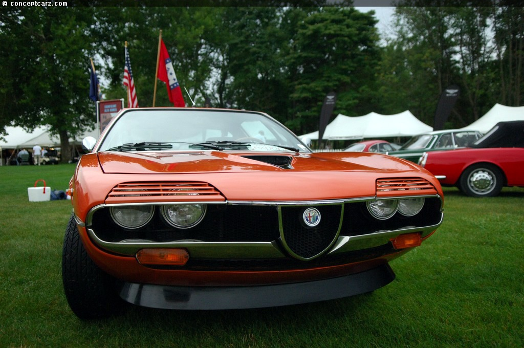 1971 Alfa Romeo Montreal Images, Information and History | Conceptcarz.com