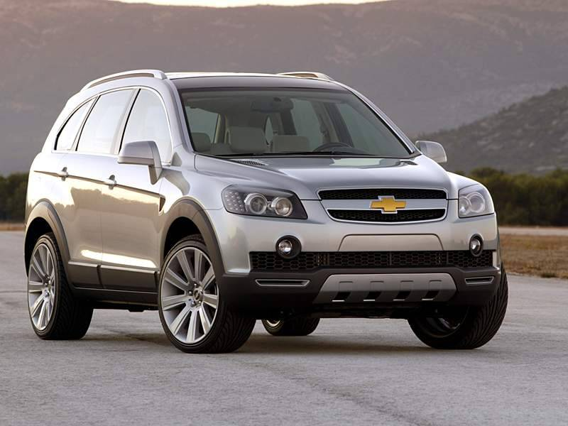 Chevrolet Captiva LTZ VCDi It is a model with Automatic transmission gearbox