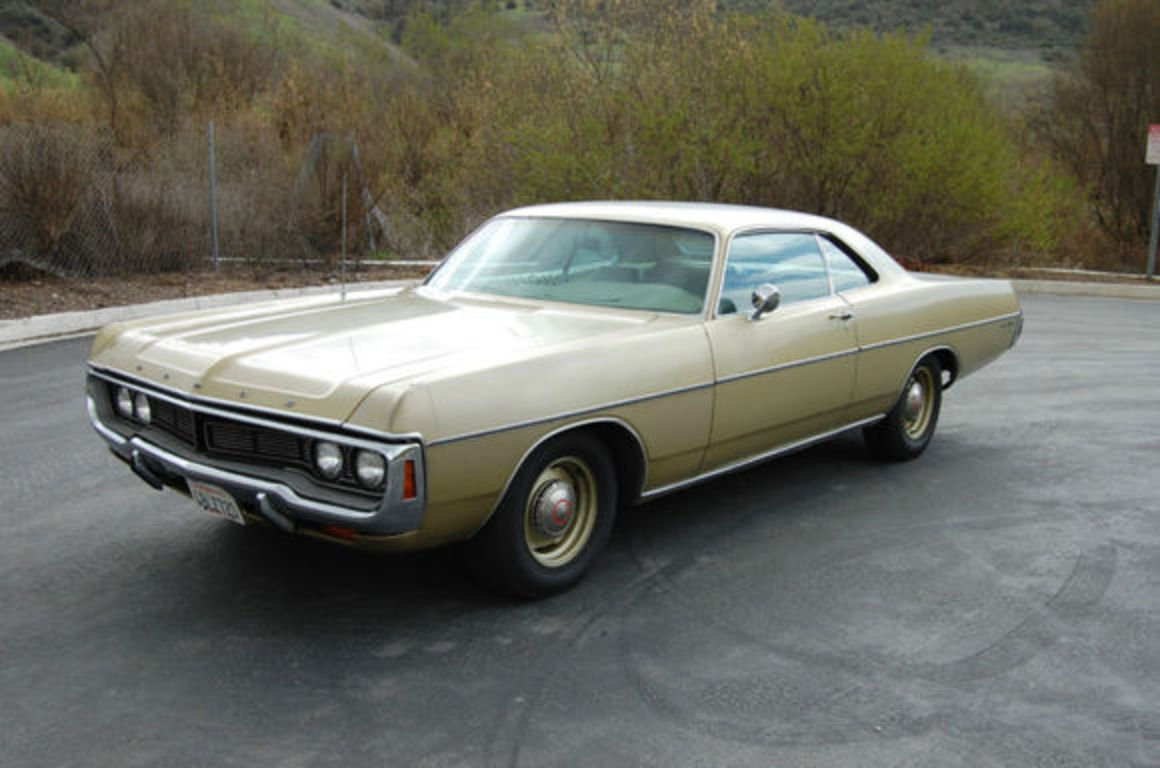 1970 Dodge Polara Custom Coupe