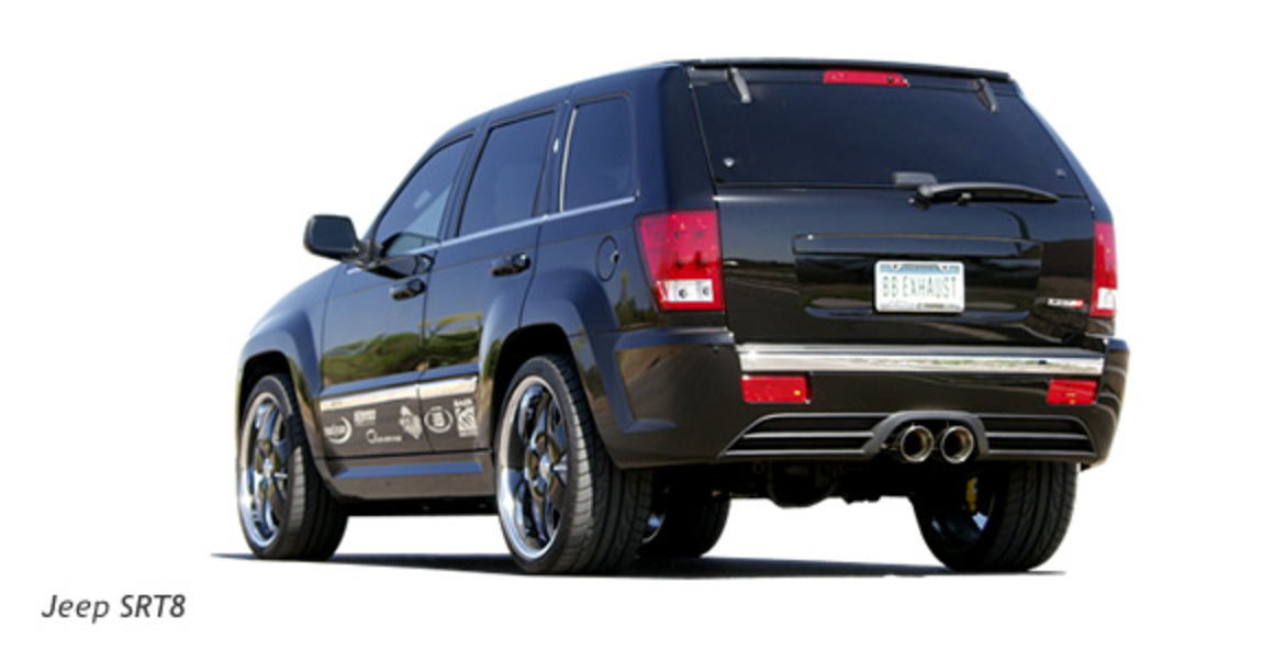Jeep Grand Cherokee SRT-8 Exhaust System