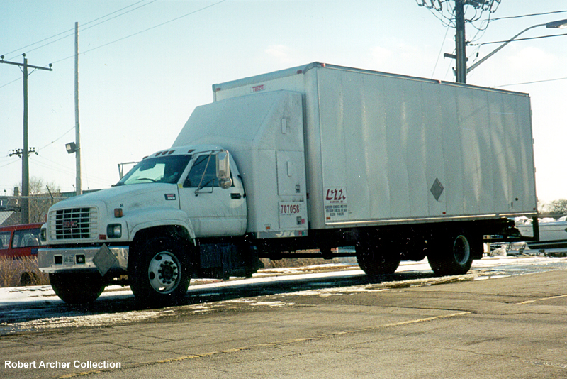 Here is a picture of a GMC model 6500 which was leased to CTX,