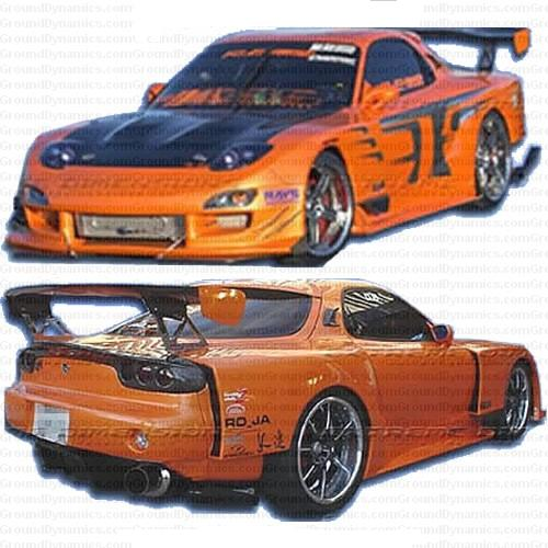 93-97 Mazda RX-7 GT Wide Body. Body Kit