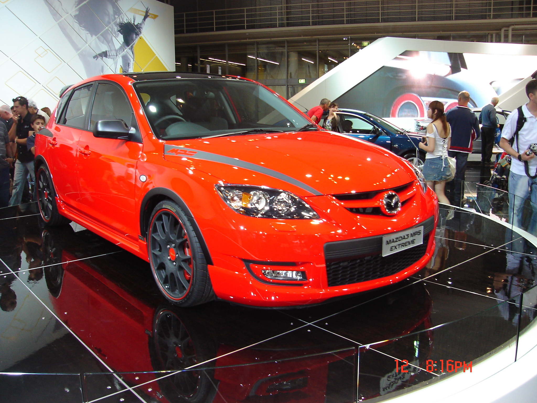 Mazda 3 MPS Extreme - huge collection of cars, auto news and reviews,