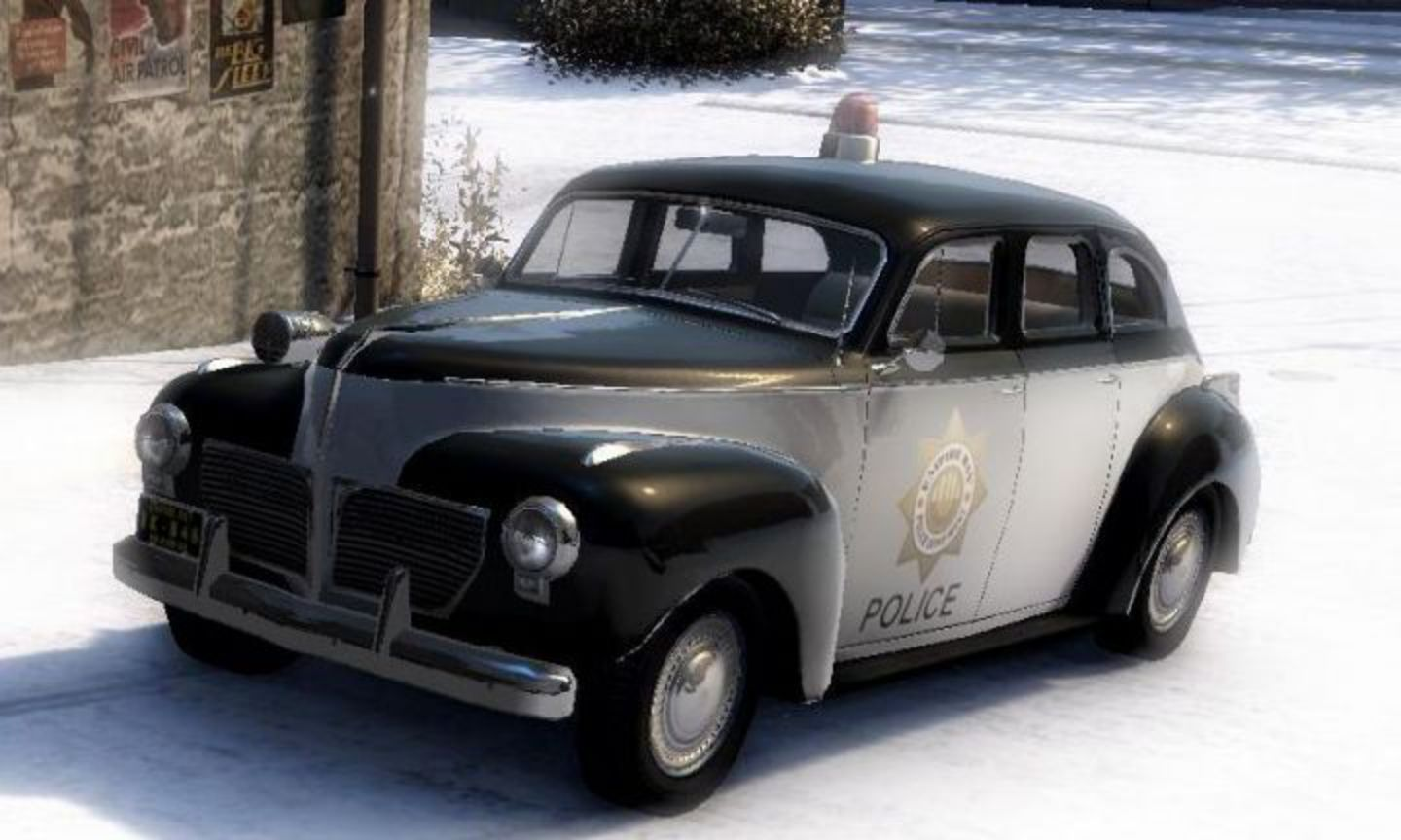 1941 Dodge Custom Sedan Police Car 'Culver Empire Police'