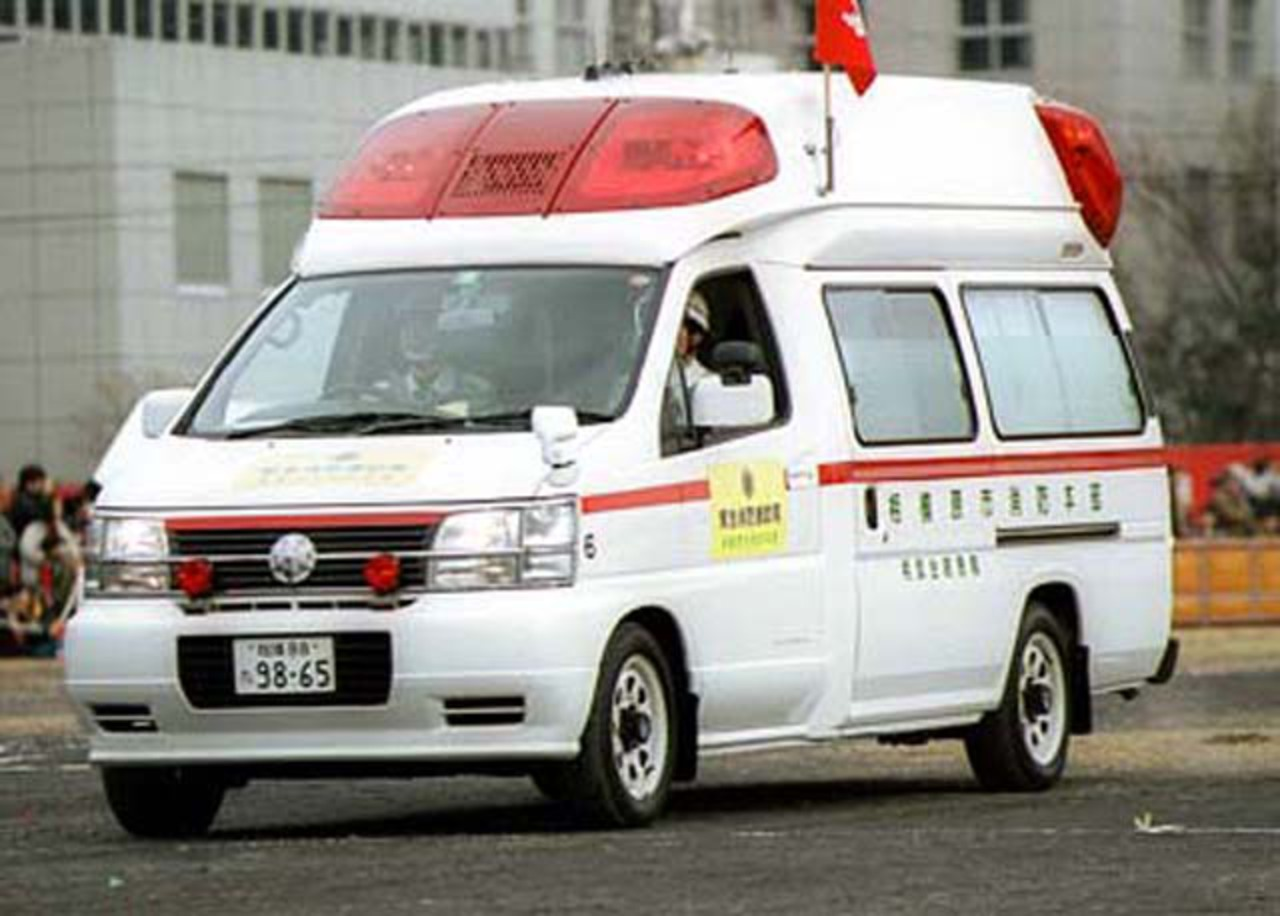 Nissan Ambulance. View Download Wallpaper. 640x458. Comments