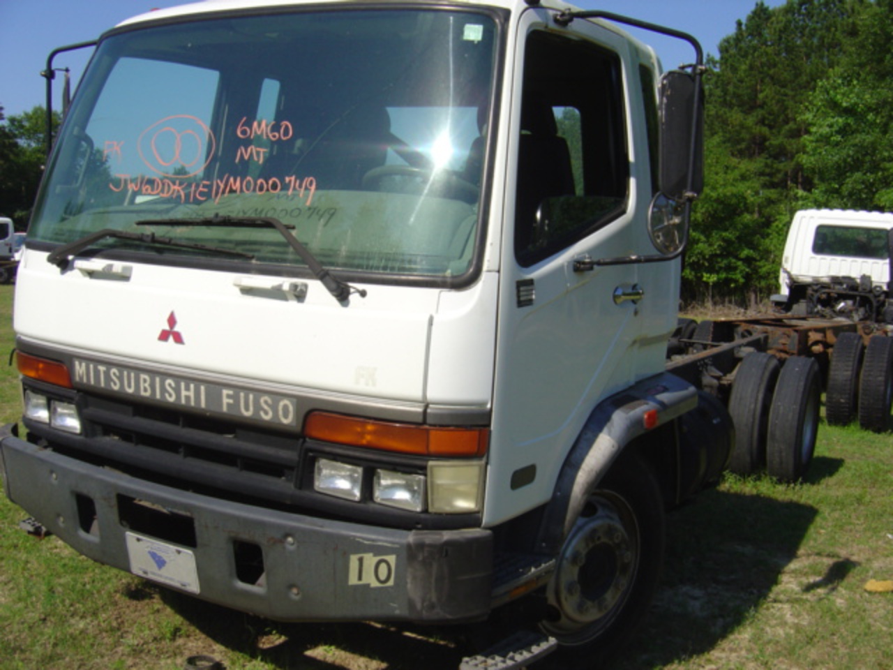 Mitsubishi Fuso FK Truck Manual 2000 Used | Busbee's Trucks and Parts