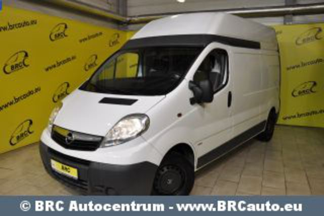 Opel Vivaro 2900 CDTI. Addons. Abs; Additional stop light; Airbags;