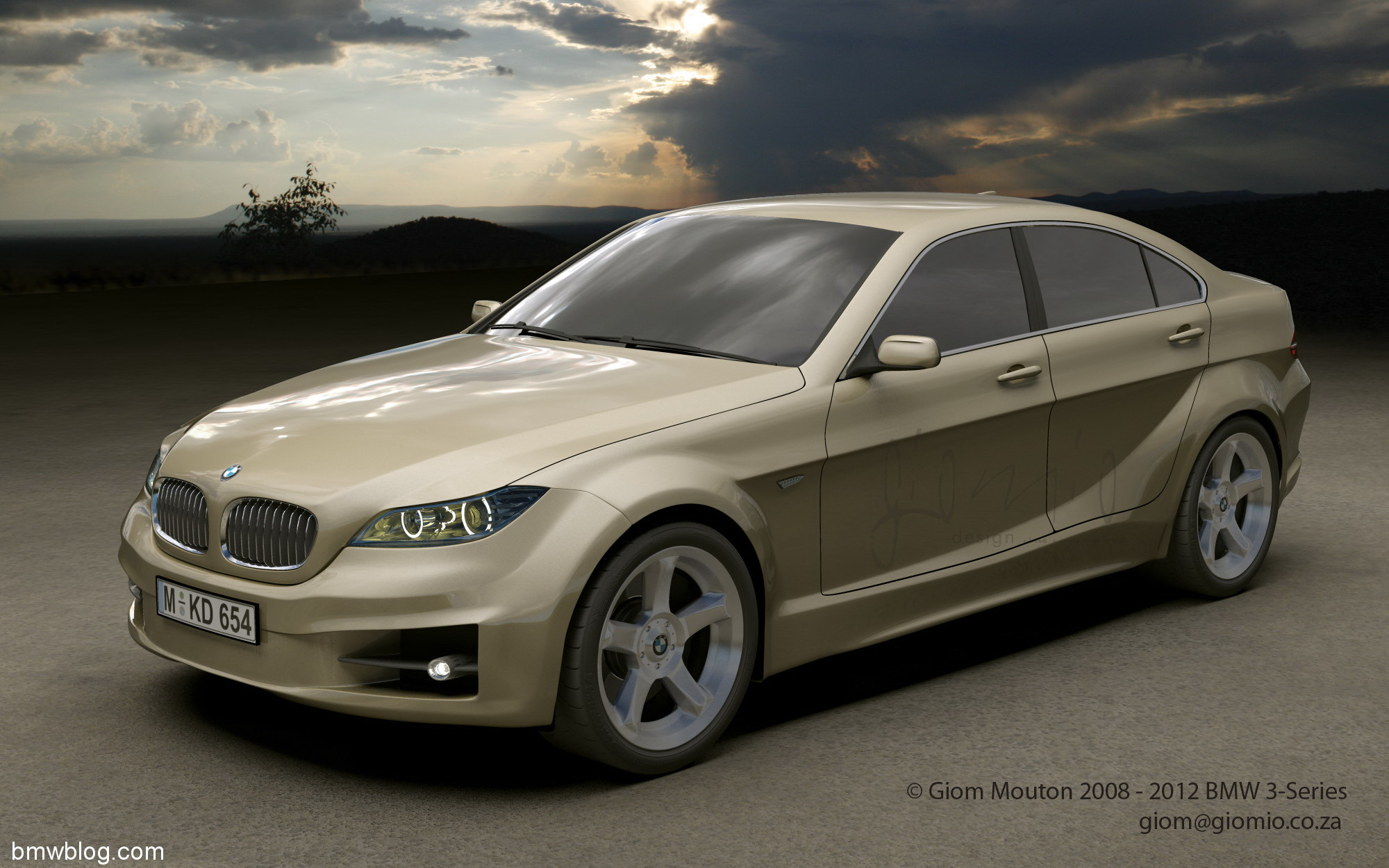 2012 BMW 3 Series. Within the next 2-3 series, the final design will be