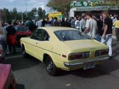 5/1975 Mazda 808 Super Deluxe Coupe. The Highest Specifications for an
