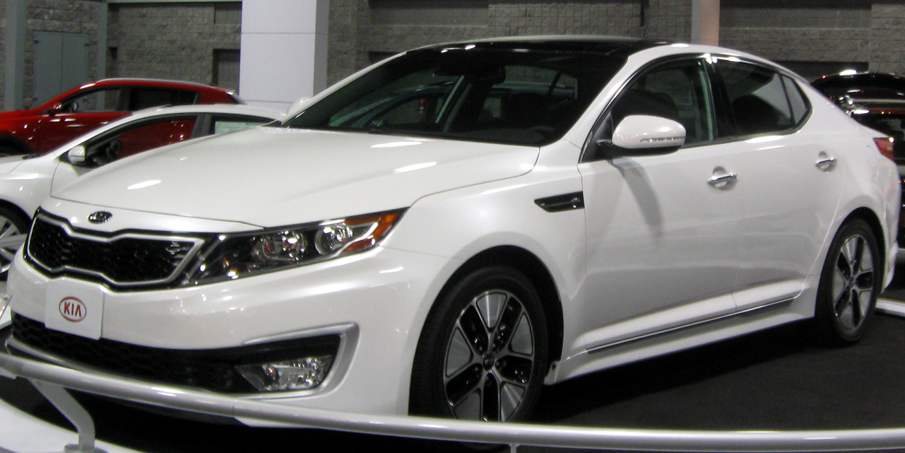 File:2011 Kia Optima Hybrid -- 2011 DC.jpg - Wikimedia Commons