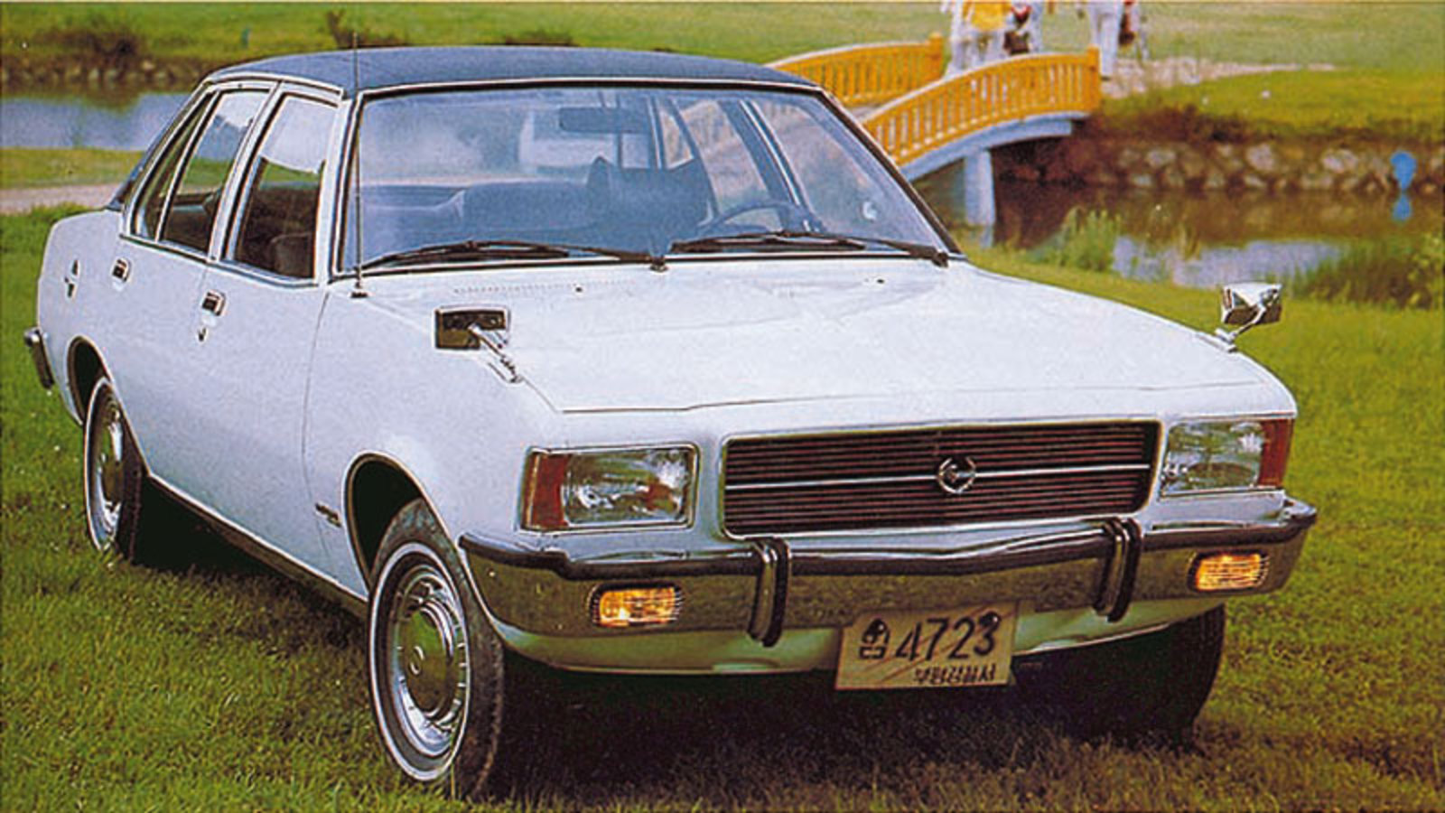 Это — Opel Record Royale (с 1975