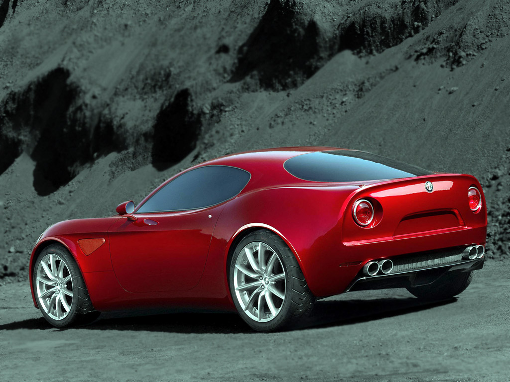 Alfa Romeo 8c Competizione. This link with the values of Alfa Romeo's