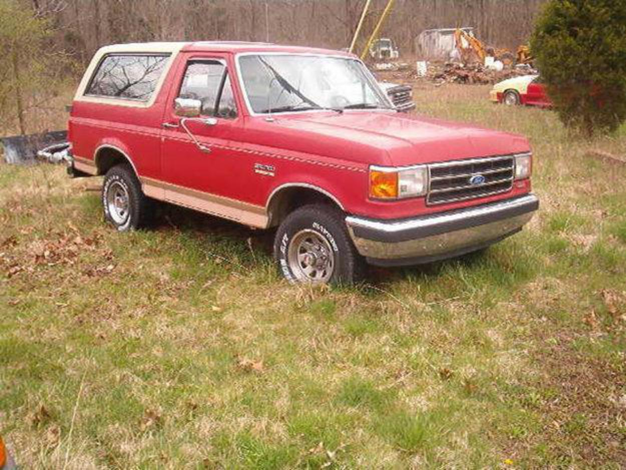 Pictures of 1989 Ford Bronco Eddie Bauer 4x4