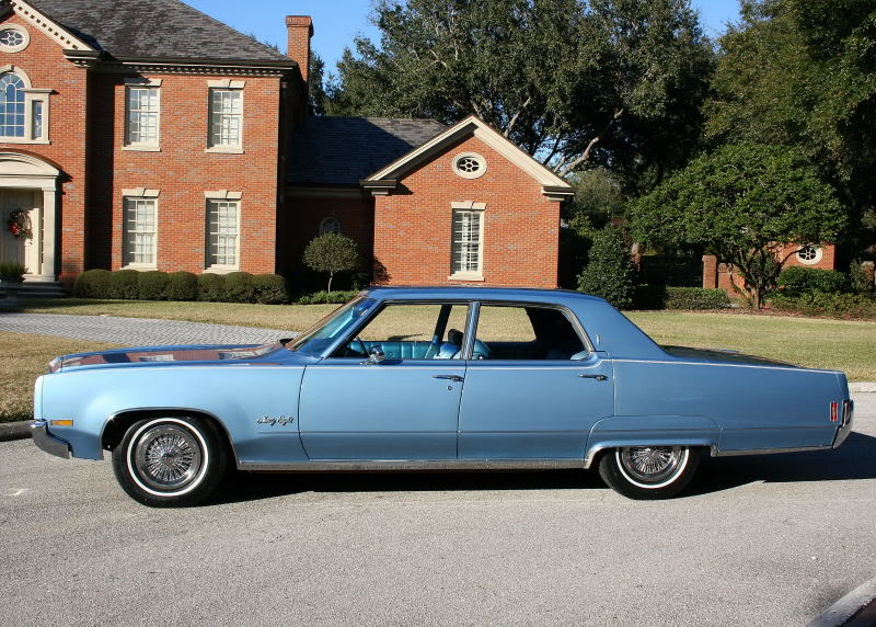 So I purchased a 'sweet' 1970 Oldsmobile 98 for just what I had, .