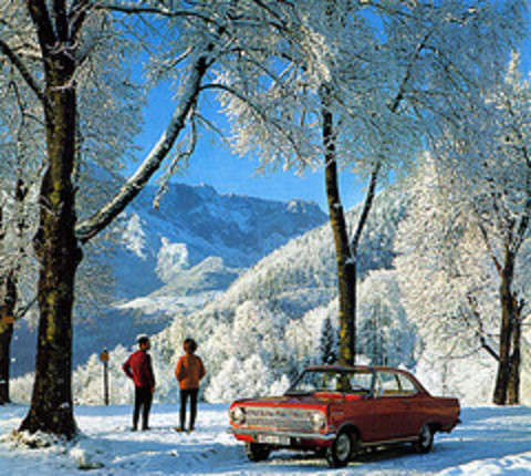 1965 Opel Rekord Coup (Martin van Duijn) Tags: alps bavaria oberbayern