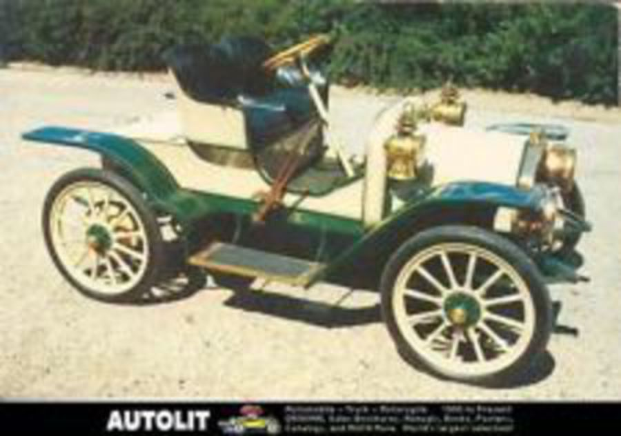 1911 Buick Model 14 Runabout Postcard