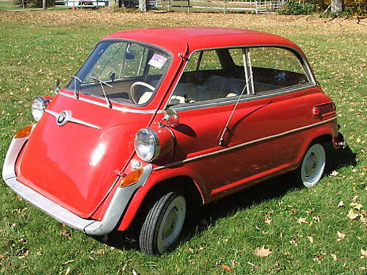BMW Isetta 600 1958. Submitted by Rick Feibusch, 2008