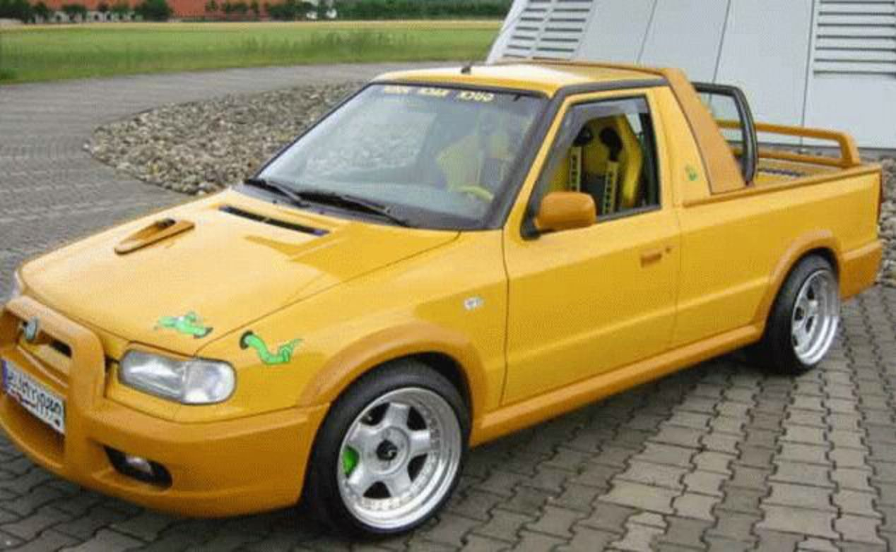 Topworldauto Photos Of Skoda Felicia Pickup Photo Galleries