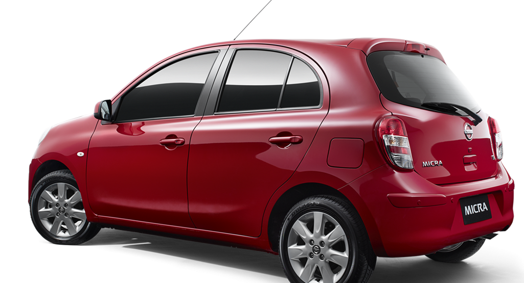 Nissan Micra Ti shown in Barcelona Red