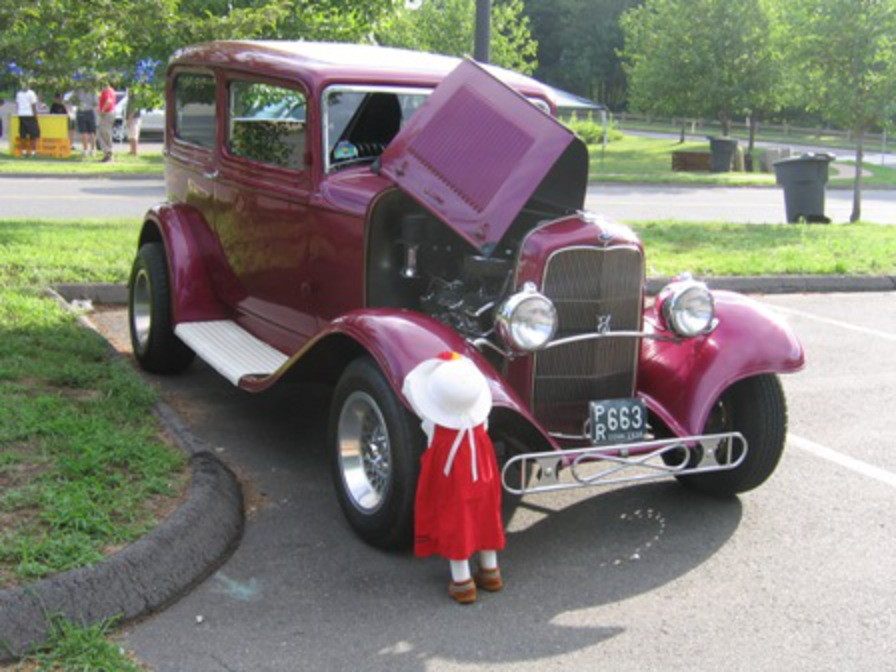 Steve Krilyno 1932 Ford 2 Dr. Sedan Street Rod Chevy V8