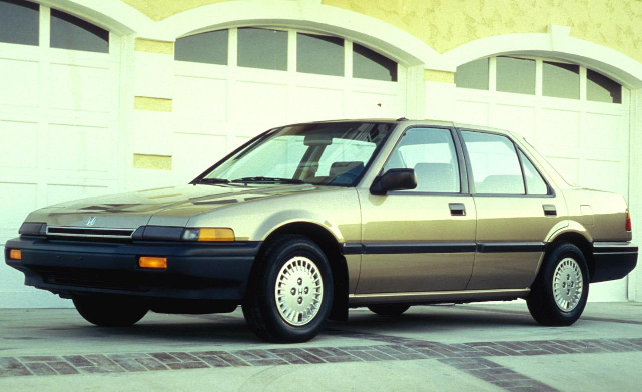 1987 Honda Accord DX sedan. WALLPAPER; PRINT; RETURN TO ARTICLE
