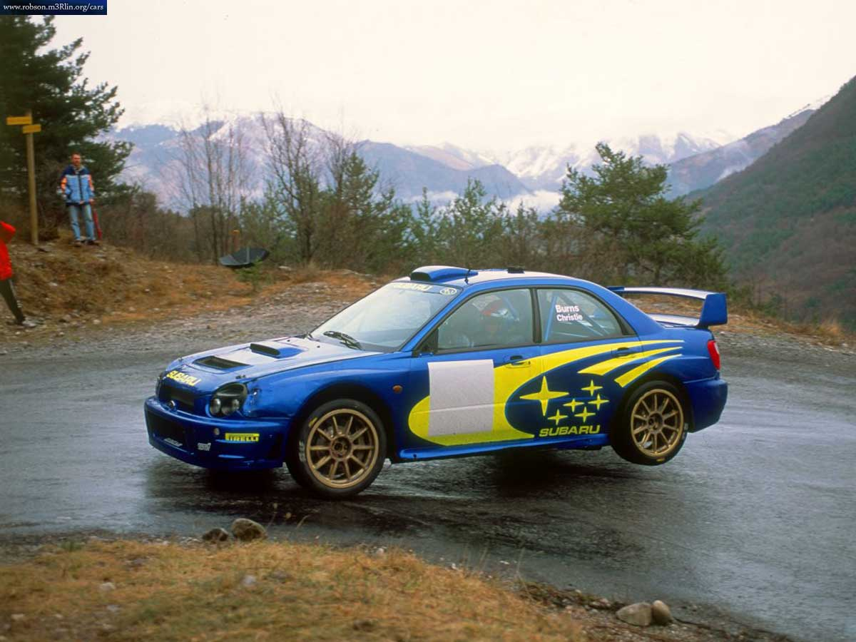 Subaru Wrx Sti Wrc Rally Car Cars Pictures Amp Wallpapers