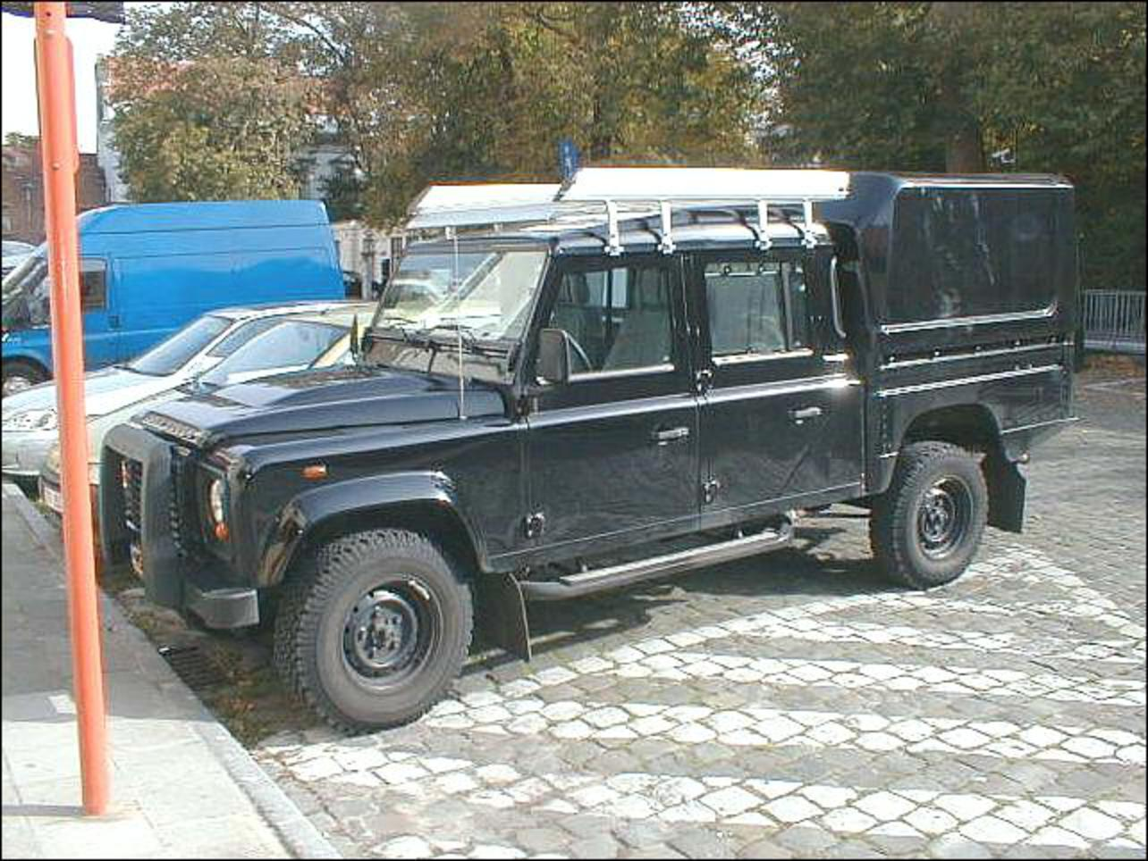 Topworldauto Gt Gt Photos Of Land Rover Defender 130 Pick Up