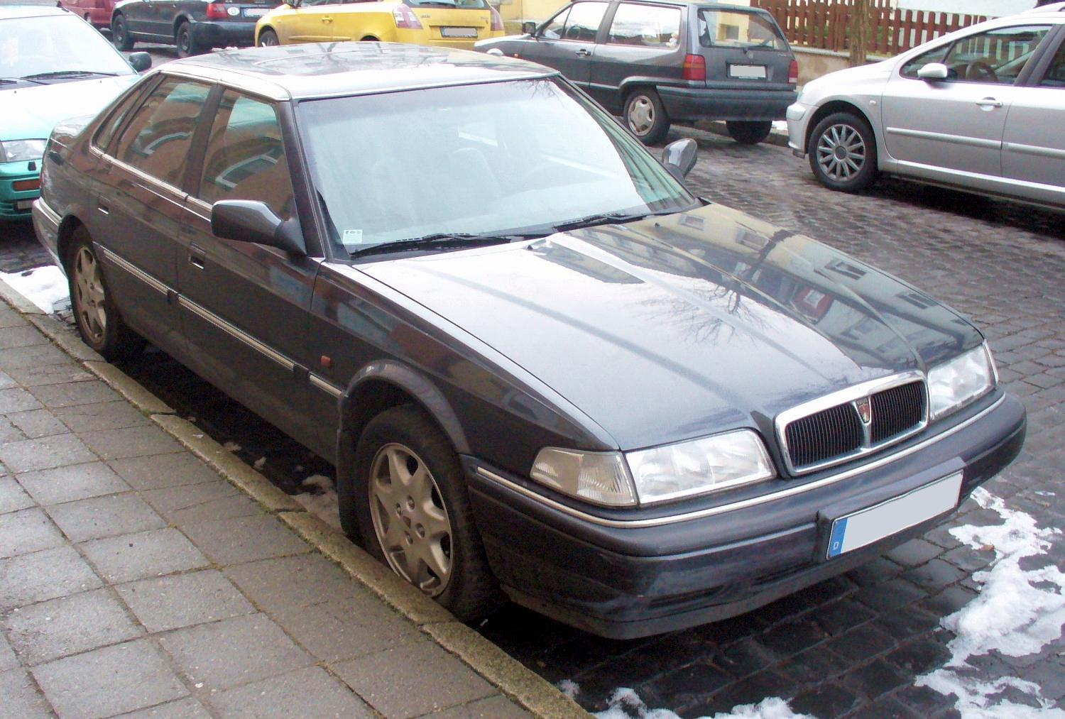 File:Rover 820 Si.JPG - Wikimedia Commons