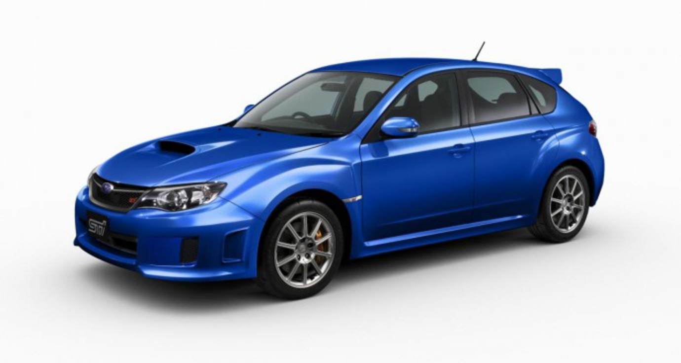 A Subaru Impreza WRX STI would be special enough for most of us but for the