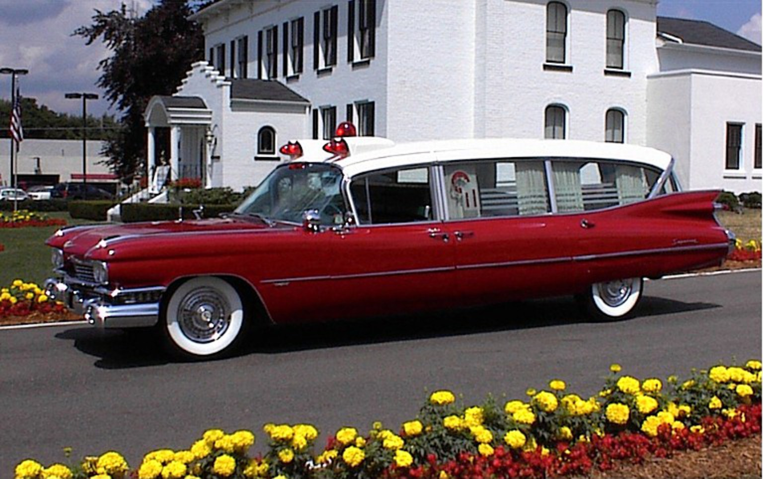 HearseWorks: 1959 Cadillac Ambulance by Superior