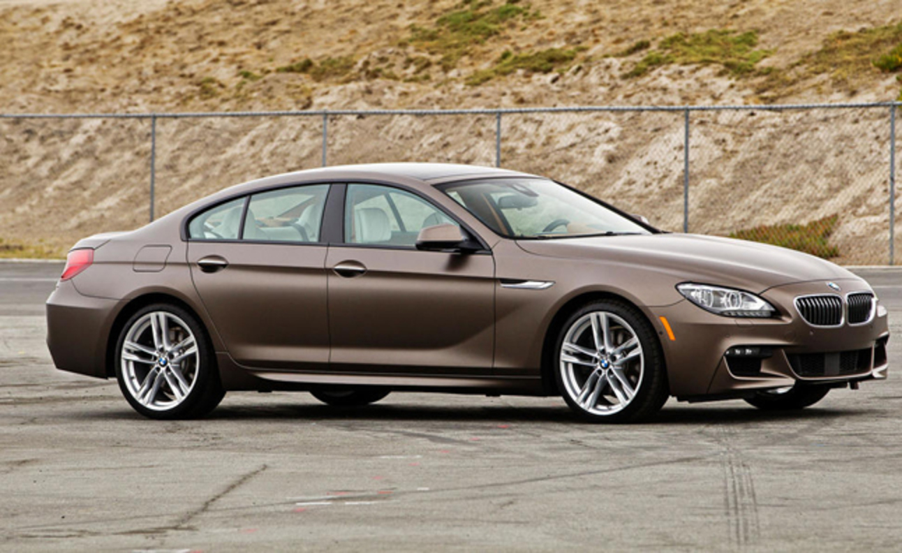 Crossed between a coupe and sedan, the 2013 BMW 650i Gran Coupe looks poised