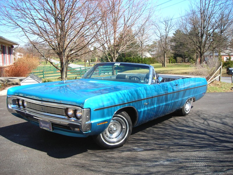 Plymouth Fury III conv. View Download Wallpaper. 800x600. Comments