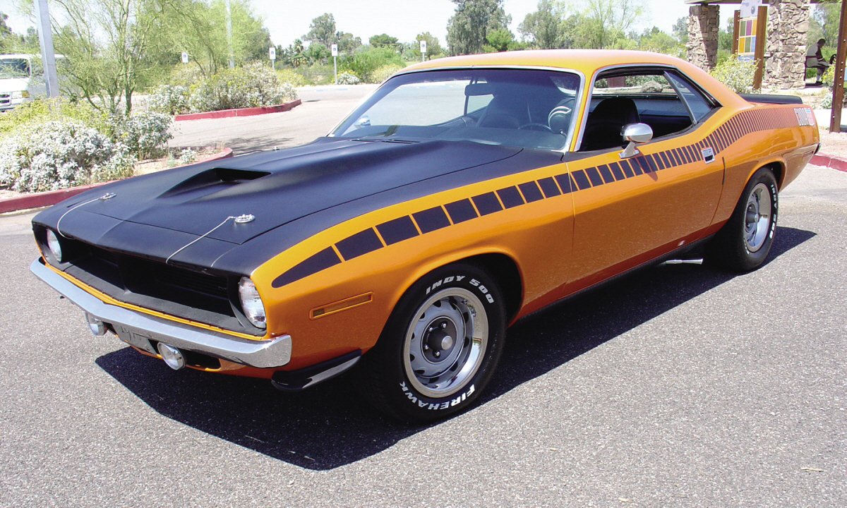 muscle plymouth cuda