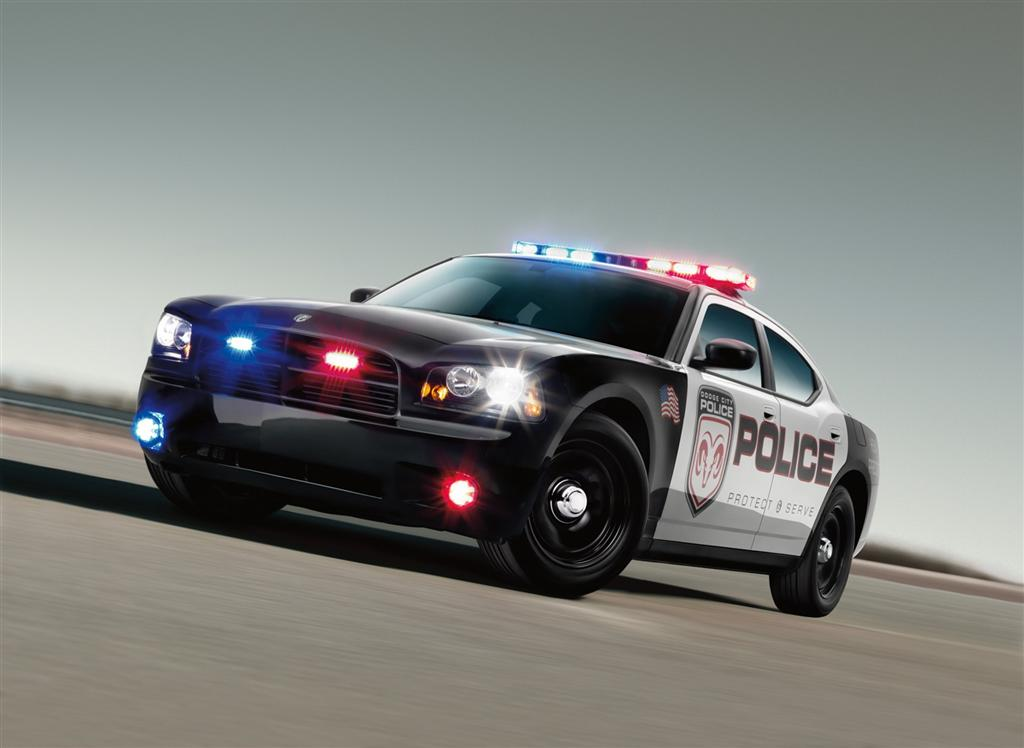 4, Dodge Charger Police Special