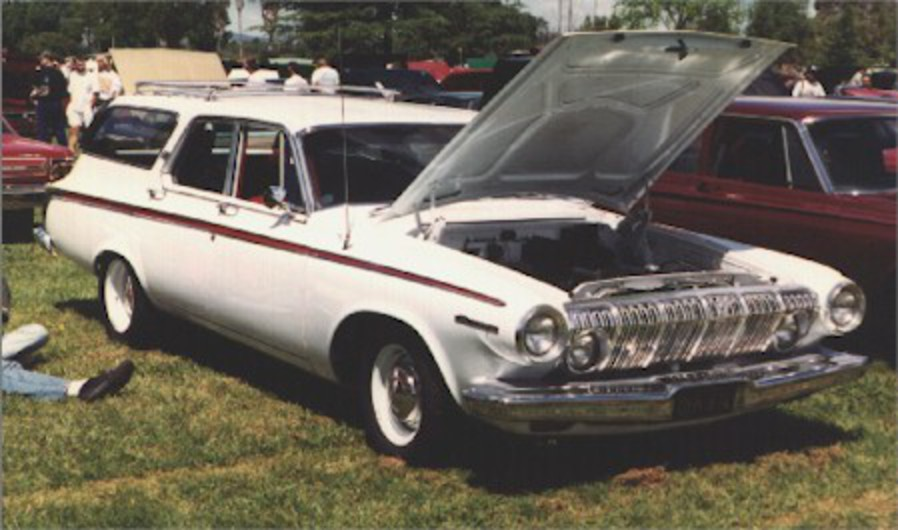 1963 Dodge 440 station wagon. Photo courtesy Tom Keliher