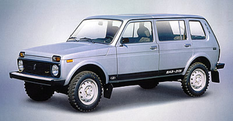 Family LADA Niva good design-design cars that bring comfort of the passenger