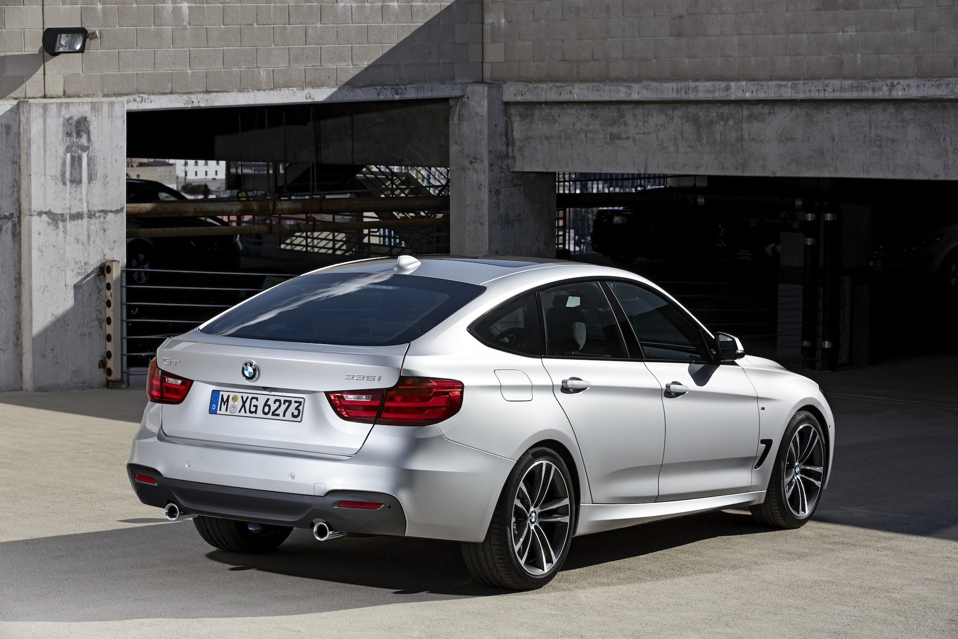 BMW 3-Series GT. Of course, the images here are of an M-Sport bodied model,
