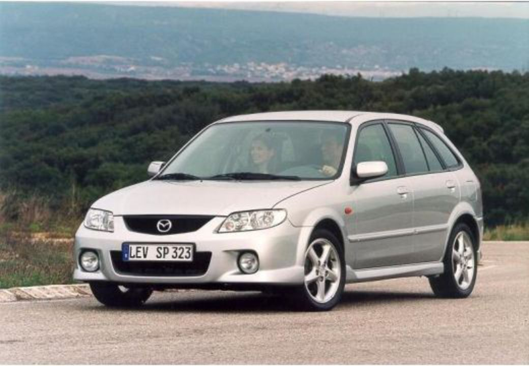 MAZDA 323 F 1.6 (2002-2003) Front + links