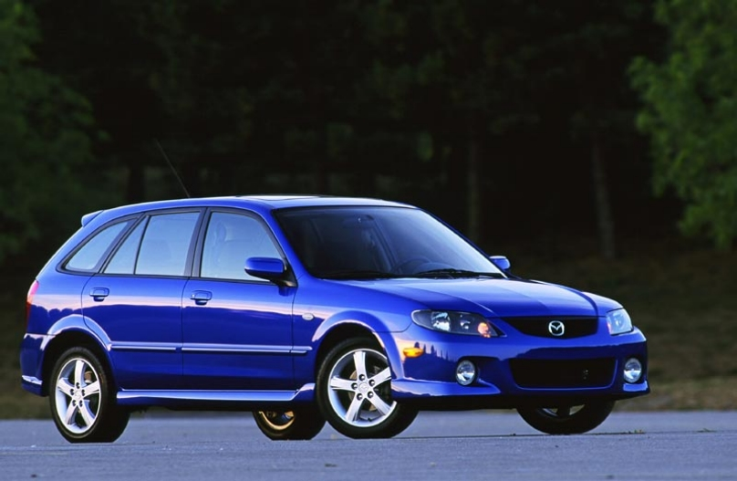 Production of 2003 Mazda Proteg?5 Sport car will include its coloring in