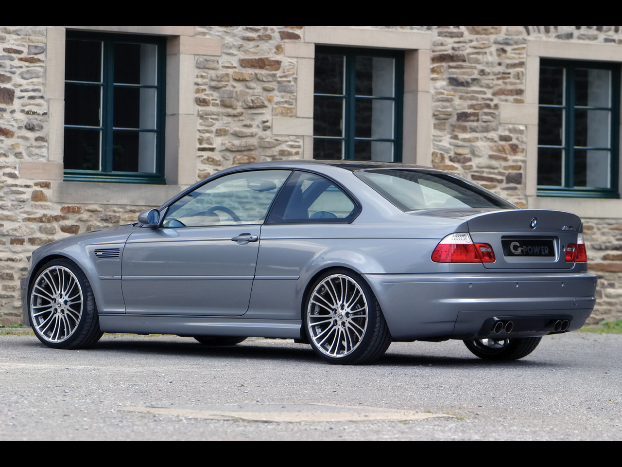 2007 G-Power BMW M3 CSL - Rear And Side - 1280x960 - Wallpaper