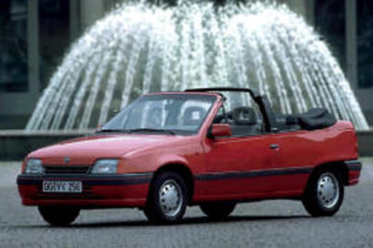 OPEL Kadett Cabriolet (1987 - 1993) ⌖. compare with: