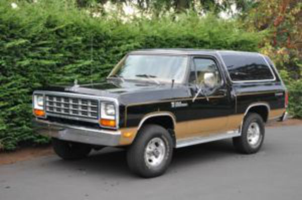 1982 Dodge Ram Charger Prospector 4x4 - Parksville / Qualicum Beach Cars For