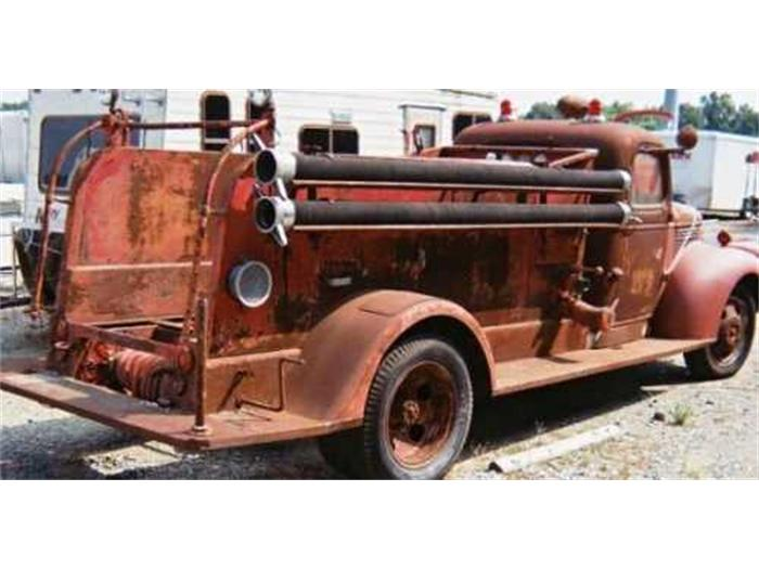 1942 Chevrolet Fire Truck For Sale | ClassicCars.com