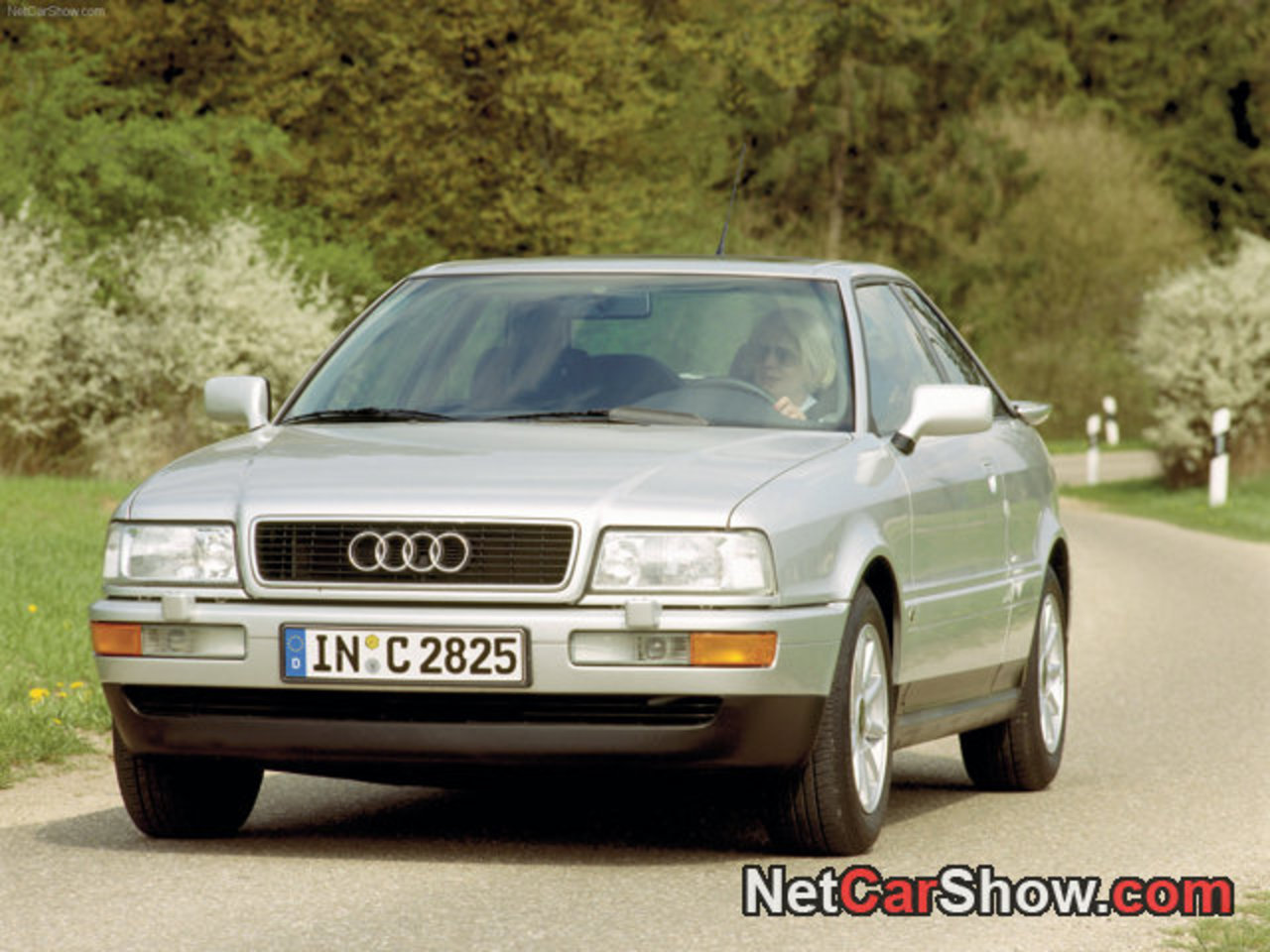 Audi Coupe picture # 02 of 05, Front Angle, MY 1988, 1280x960