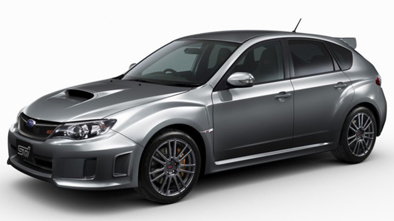 Subaru Impreza WRX STI Spec C – Click above for high-res image gallery