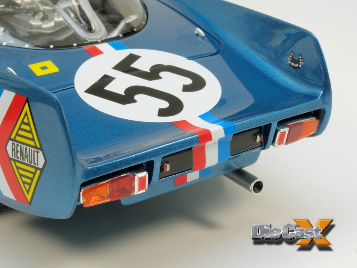 Ottomobile 1:18 Alpine A210: Resin Rocks - Die Cast X