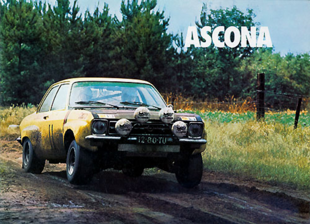 in six of eight races and won the European Rally Championship,