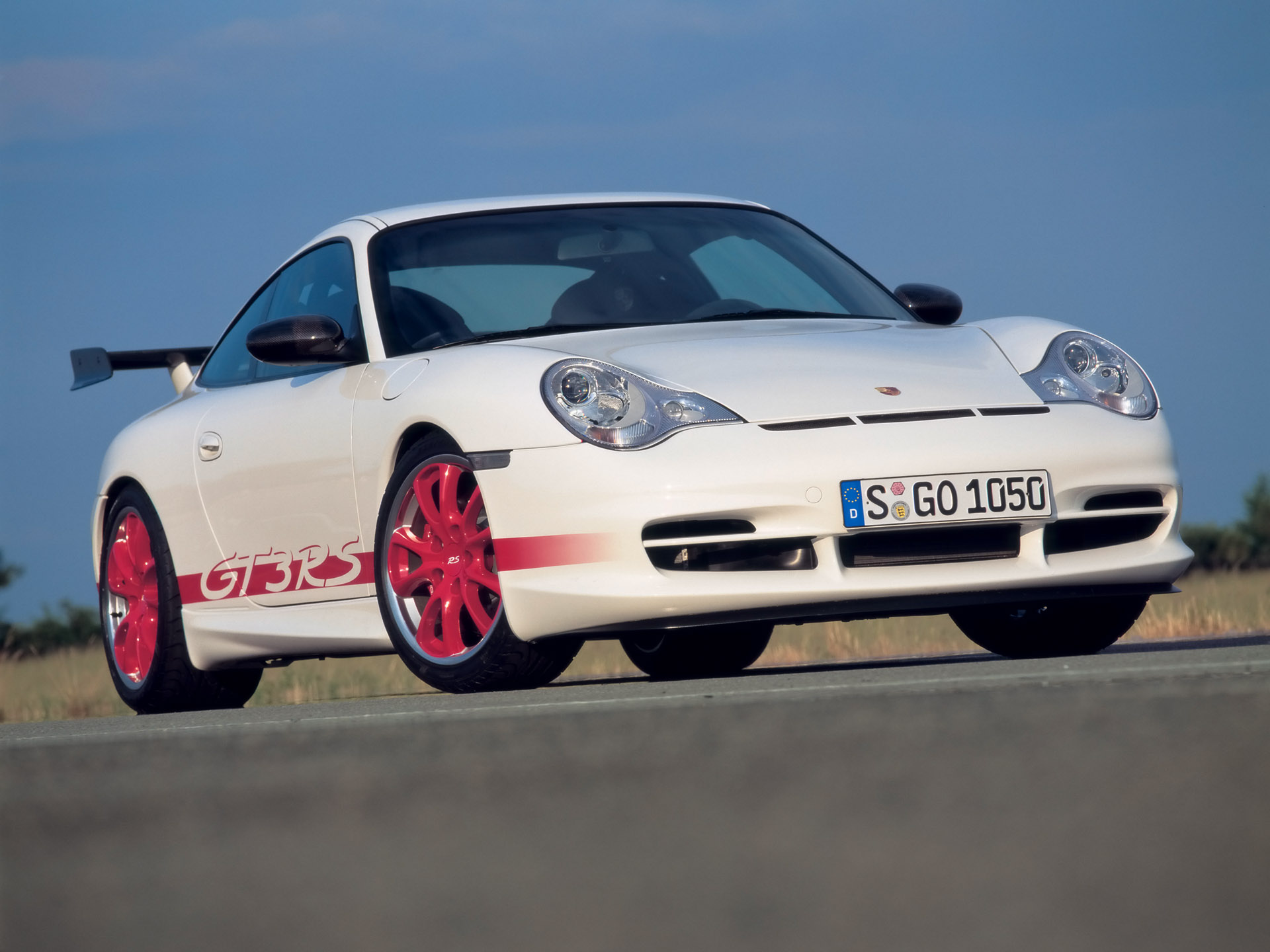 2004 Porsche 911 GT3 RS. More pictures and press release are below.