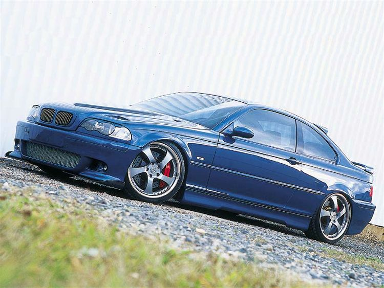 2000 Bmw 328Ci Coupe Left Front View